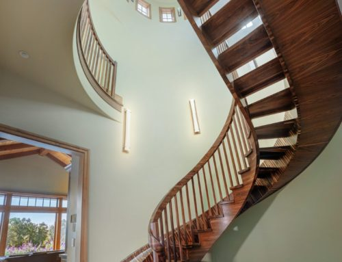 Featured by FineHomebuilding.com: Skip the Stairs, Take the Slide